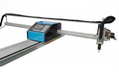 portativ cnc alov / plazma kəsmə maşını polad 8mm cnc mis mis üçün metal kəsmə maşın