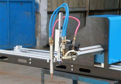 Mini keçid CNC plazma kəsmə maşını / CNC qaz plazma kəsici