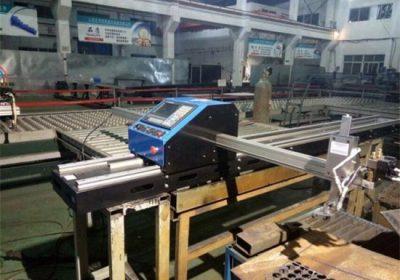 Metal plitələr CNC alov plazma kəsmə maşını