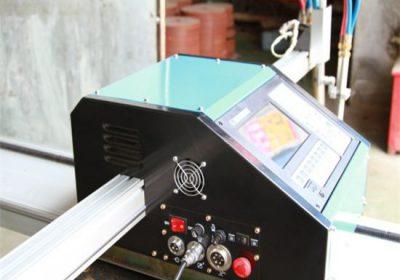 CNC Portativ Plazma kəsmə maşını, Oksigen yanacağı Metal kəsmə maşın qiyməti