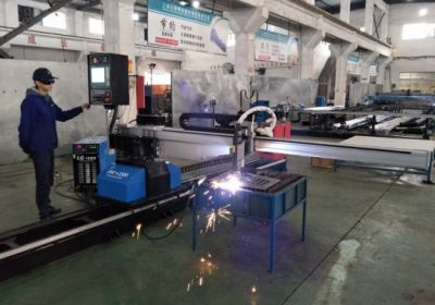 CNC daşınan plazma alov boru kəsmə maşını zavod qiyməti ilə çini